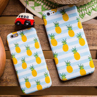 Pineapple Pattern iPhone 5s 5se 6 6s Plus Case Cover Gift Free Gift Box