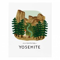 Yosemite Art Print by RIFLE PAPER Co. | Made in USA