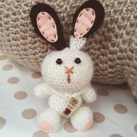 Crochet Amigurumi Animal, Amigurumi crochet doll, Animal crochet rabbit bunny