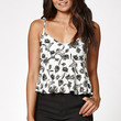 Kendall and Kylie Smocked Back Peplum Tank Top at PacSun.com