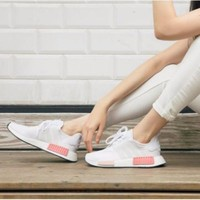 Best Sale Adidas NMD R1 'White Rose'