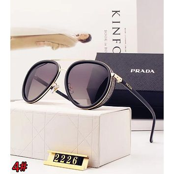 PRADA Popular Women Sun Shades Eyeglasses Glasses Sunglasses 4#