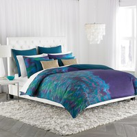 Amy Sia Midnight Storm 3-pc. Comforter Set - King (Blue)
