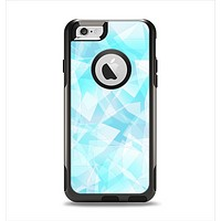 The Vector Abstract Shaped Blue Overlay Apple iPhone 6 Otterbox Commuter Case Skin Set