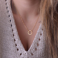 New Arrival Shiny Jewelry Gift Strong Character Stylish Simple Design Necklace [7298061639]