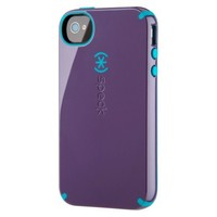 Speck CandyShell Case for iPhone® 4/4S - Grape/Peacock