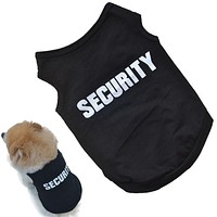 Pet dog clothes for small dogs warm vest