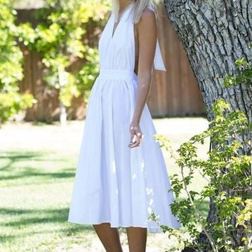 Monroe Moment Fit and Flare Midi Dress FINAL SALE!