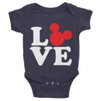 Love Mickey Mouse Disney Infant short sleeve one-piece