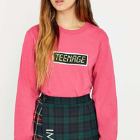 MadeMe Teenage Long Sleeve T-shirt - Urban Outfitters