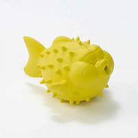 Natural Rubber Bathtub Pals: Puffer Fish