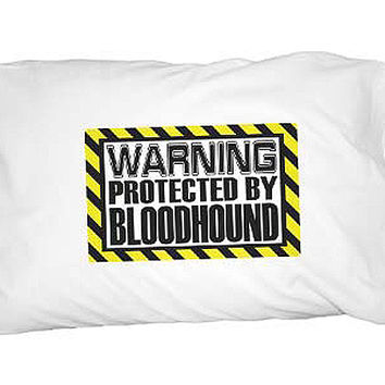 Warning Protected by Bloodhound