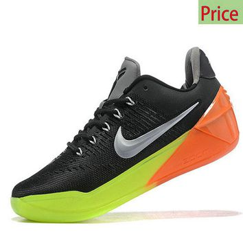 Spring Summer 2018 Legit Cheap Nike Kobe A.D. All Star NBA 2017 Black Silver Volt Max Orange sneaker
