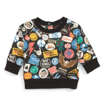 Rock Your Baby Vintage Patches Sweatshirt (Baby Boys) | Nordstrom