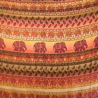 Elephant Tapestry Lines