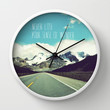 never lose your sense of wonder Wall Clock by Sylvia Cook Photography