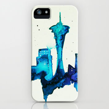 Seattle iPhone & iPod Case by Talula Christian