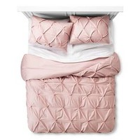 Pinch Pleat Duvet & Sham Set - Threshold™ : Target