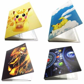 4 Style ing Cards Album Book List Loaded Into 112  EX Cards Collection Album Carte  Collection Card Kids Toys GiftsKawaii Pokemon go  AT_89_9
