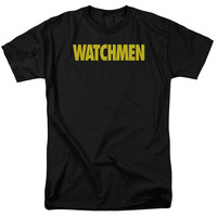 Watchmen Logo Black T-Shirt