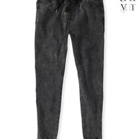 United XXVI Guys Acid Wash Jogger Pants