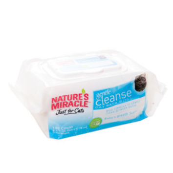 NATURE'S MIRACLE™ Just for Cats Gentle Cleanse Bath Wipes - Sale - Cat - PetSmart