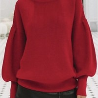 Aly Daly Turtle Neck Sweater