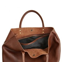 Fatima Leather Tote   | Calypso St. Barth