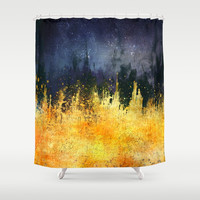 My burning desire Shower Curtain by HappyMelvin