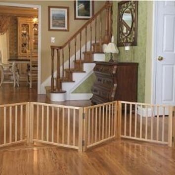 Four Paws Free Standing Walk Over Gate - 3 Panel