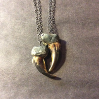 Coyote Claw Pendant
