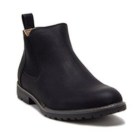 New Men's 17806 Leather Lined Chelsea Ankle Dress Boots