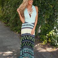 The Fire Within Me Maxi Mint
