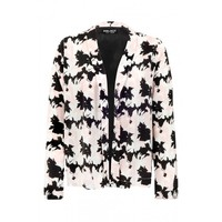 Pink Shadow Floral Soft Jacket