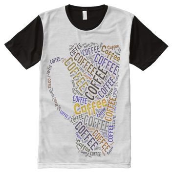 Coffee Word Art Tee