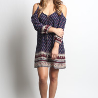 Blu Pepper Woven Dress