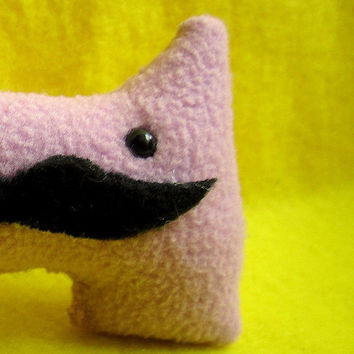 Mini Mustache Monster - Small Dapper Plush