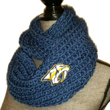 Nashville Predators Knit Cowl