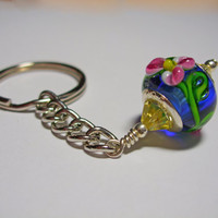 Floral Key Ring