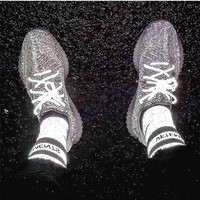 Adidas Yeezy 350 V2 Boots Static Fashion Women Men Casual Sport Running Shoes Sneakers