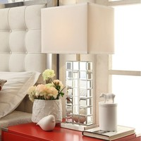 Cathie Mirrored Table Lamp