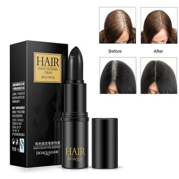 Instant Gray Root Coverage Hair Color Modify Cream Stick Temporary Cover Up White Hair Colour Dye Long Wear