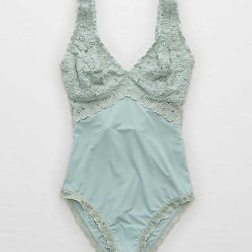 Aerie Real Soft® Bodysuit + Lace 274b06bad