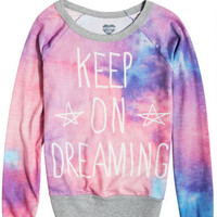Keep On Dreaming Sweatshirt - Multi