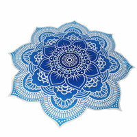 Flower Beach Wraps Home Tapestry Shawl Round Cappa Pareo Mandala India hippie Boho Beach Mat Blanket Wall Hanging P30