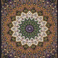 Sunshine Joy® 3D Purple India Star Tapestry - Hanging Wall Art - Beach Wrap - Amazing 3-D Effects (85X100 inches)