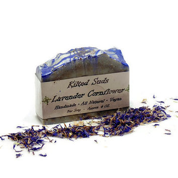 Lavender Cornflower Bar Soap