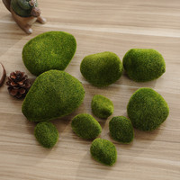 New Foam green Moss ball 5Pcs Marimo Aquarium Plant Cladophora Underwater Fish Tank Ornament hot sale