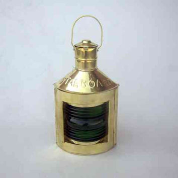 Starboard (Green) Ship Lantern Revives The Marine History Again