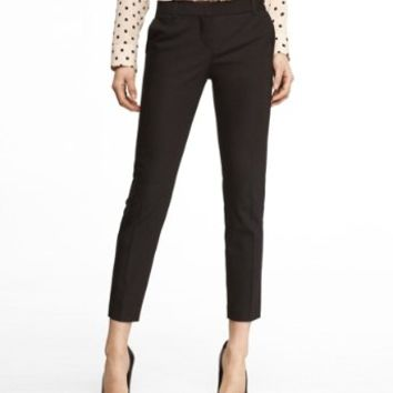 ULTIMATE DOUBLE WEAVE COLUMNIST ANKLE PANT